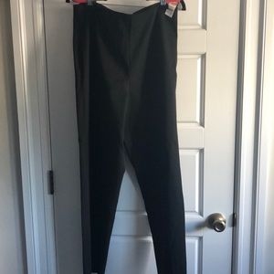 Talbots black stretch slacks NWT size 14. Side zip